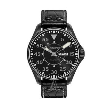 해밀턴 H64785835 카키 에비에이션 파일럿 오토 남성 시계 $1,095 → $498