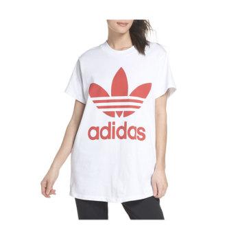 아디다스 우먼 트레포일 로고 티셔츠 $40 → $23.98