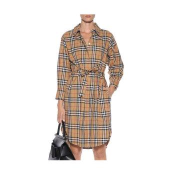 버버리 체크 셔츠 드레스 530유로 → 480유로 + 한국 직배송 무료