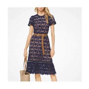 (가격 인하) (손예진 착용) 마이클 마이클 코어스 플로럴 레이스 드레스 $325 → $97.5