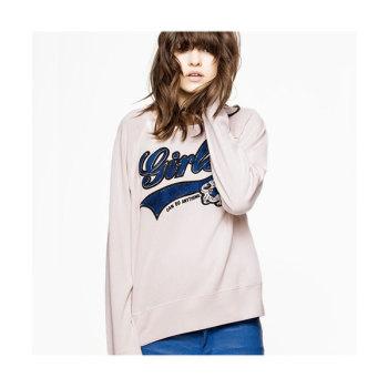 쟈딕 앤 볼테르 GIRLS CAN DO ANYTHING 프린트 스웨트셔츠 160유로 → 80유로