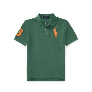 폴로 랄프로렌 빅 보이즈 반팔 폴로 티셔츠 $39.5 → $12.99