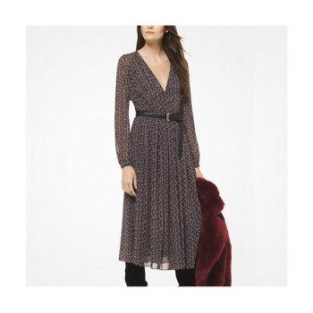 (이나영 착용) 마이클 마이클 코어스 튤립 플리츠 쉬폰 드레스 $102.38