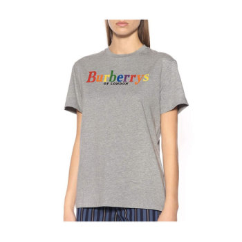 (윤아 착용) 버버리 우먼 로고 티셔츠 225유로