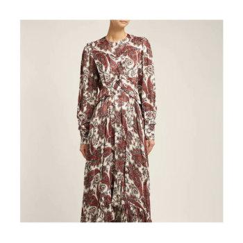 (신민아 착용) 이자벨 마랑 조르자 페이즐리 프린트 드레스 $1,603 → $1,362.75