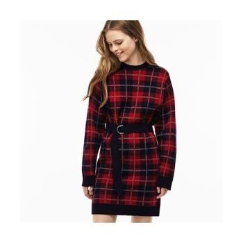 (이연희 착용) 라코스테 체크 울 드레스  $131.99