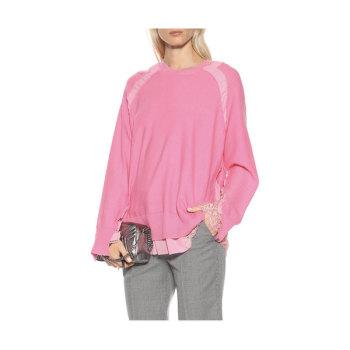 (한혜진 착용) 스텔라 맥카트니 러플 스웨터 905유로