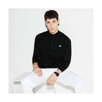 (이민기 착용) 라코스테 울 집업 하이넥 스웨터 $175