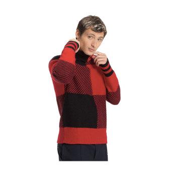 (찬열 착용) 타미 힐피거 맨 버팔로 체크 울 스웨터 $149.5→ $97.17