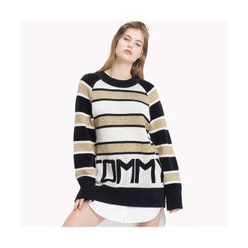 (태연 착용) 타미 힐피거 타미 아이콘 로고 스웨터 $179.5→ $77.99