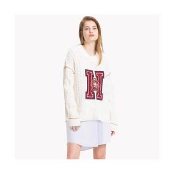 (태연 착용) 타미 힐피거 타미 아이콘 크러스트 스웨터 $225→ $95.99