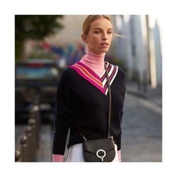 (윤은혜 착용) 산드로(프랑스) 크로스오버 스웨터 132유로