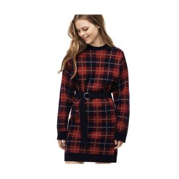 (이연희 착용) 라코스테 타탄 체크 울 드레스 $265 → $131.99