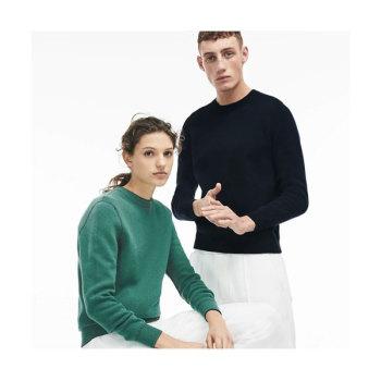 (찬희 착용) 라코스테 남녀공용 양면 울 저지 스웨터 $130 → $64.99