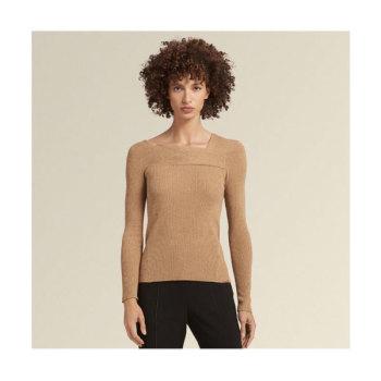 (소이현 착용) DKNY 골지 보트넥 스웨터 $125 → $41.3