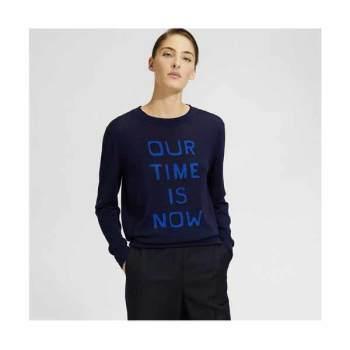 띠어리 인타르시아 레터링 스웨터 $335 → $100.5