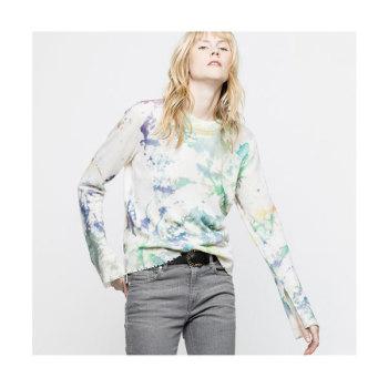 (이나영 착용) 쟈딕 앤 볼테르 델리 캐시미어 스웨터 $498 → $199.2