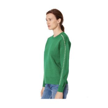 (성유리, 장윤주 착용) 산드로(프랑스) Au 진주 스웨터 225유로 → 101.25유로