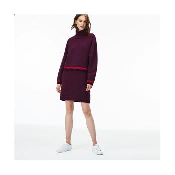 (이연희 착용) 콘트라스트 엑센트 저지 스웨터 드레스 $295 → $147.99
