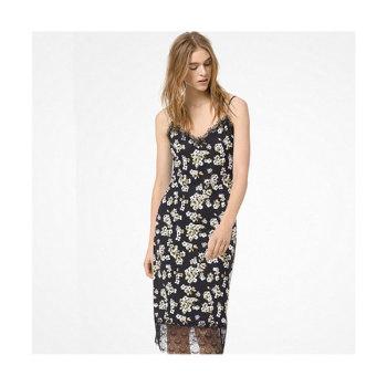 (윤아 착용) 마이클 마이클 코어스 플로럴 슬립 드레스 $175 → $78.75