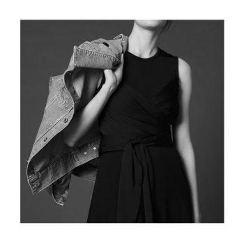 산드로 벨트 롱 드레스 $370→ $74