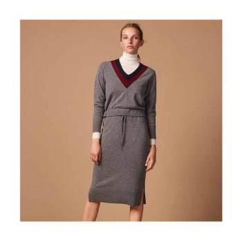 산드로 롱 니트 드레스 245유로 → 122.5유로