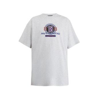 (가격 인하) 발렌시아가 맨 로고 프린트 티셔츠 $460 → $209
