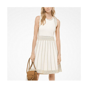 마이클 마이클 코어스 스터드 니트 드레스 $495 → $148.5