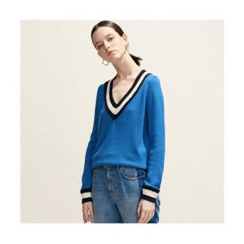 (청하, 정유진 착용) 끌로디 피에로 MIKE 브이넥 스웨터 185유로 → 129.5유로