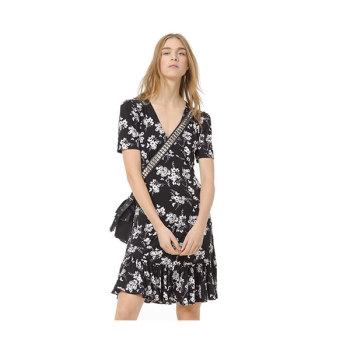 (윤아 착용) 마이클 마이클 코어스 보태니컬 저지 드레스 $125 → $62.5
