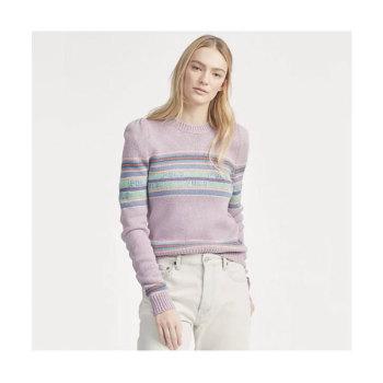 (한효주 착용) 폴로 랄프로렌 퍼프 소매 스웨터 $248