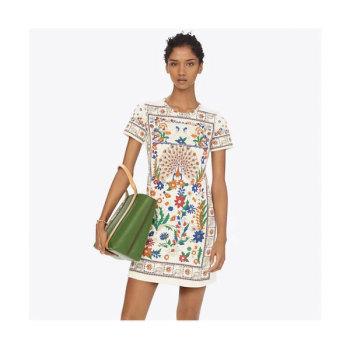 (소이현 착용) 토리버치 프린트 티셔츠 드레스 $228 → $182.4