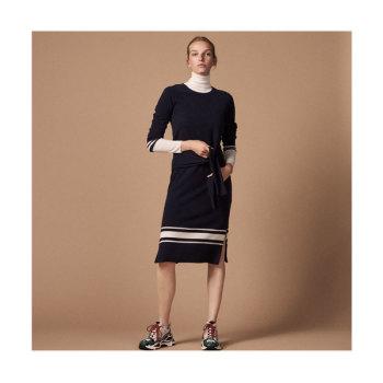 산드로 롱 니트 드레스 245유로 → 98유로