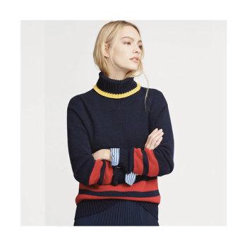 (한효주 착용) 폴로 랄프로렌 스트라이프 코튼 스웨터 $248 → $173.6