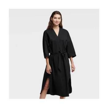 DKNY 오버사이즈 브이넥 셔츠 드레스 $139 → $69.3