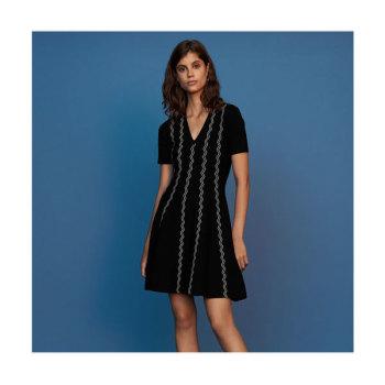 마쥬RIGOLE 자카드 드레스 $395 → $158