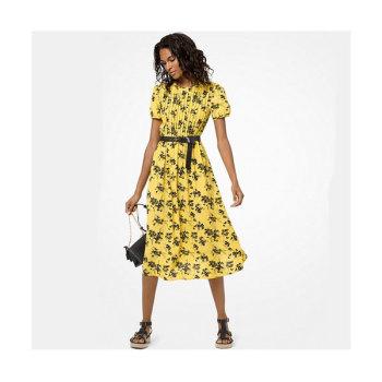 (윤아 착용) 마이클 마이클 코어스 보태니컬 프린트 드레스 $165