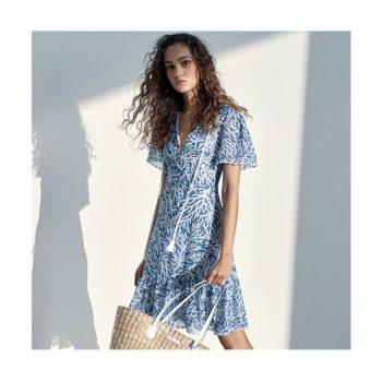 (윤아 착용) 마이클 마이클 코어스 태슬 조젯 드레스 $250 → $187.5