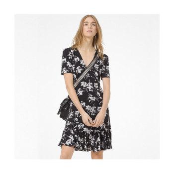 (윤아 착용) 마이클 마이클 코어스 보태니컬 저지 드레스 $125 → $46.88