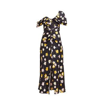 (혜리 착용) 셀프 포트레이트 플로러 프린트 사틴 드레스  $349