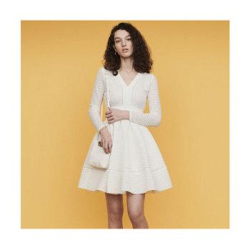 (송혜교 착용) 마쥬 ROSSIGNOL 레이스 드레스 $415 → $290.5