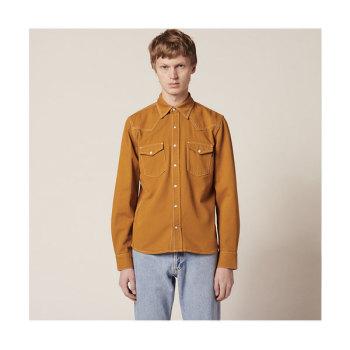 (박형식 착용) 산드로 맨 코튼 패브릭 셔츠 155유로 → 77.5유로