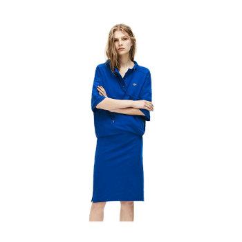 (고아성 착용) 라코스테 스트레치 코튼 폴로 드레스 $185