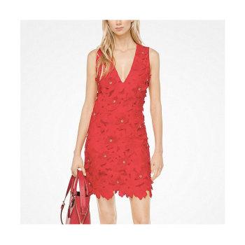 (윤아 착용) 마이클 마이클 코어스 플로럴 아플리케 레이스 드레스 $275 → $82.5