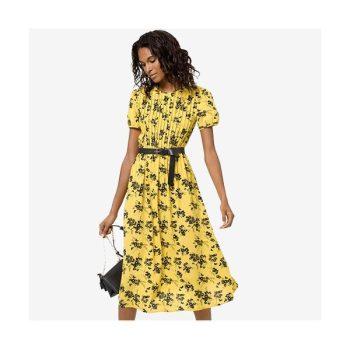(윤아 착용) 마이클 마이클 코어스 보태니컬 프린트 드레스 $165 → $72.77