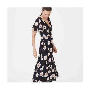 (이하늬 착용) 클럽 모나코 자미카 실크 플로럴 드레스 $349 → $167.3