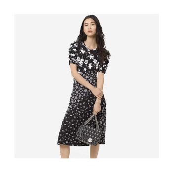 (윤아 착용) 마이클 마이클 코어스 자수 보태니컬 프린트 드레스 $295 → $103.25