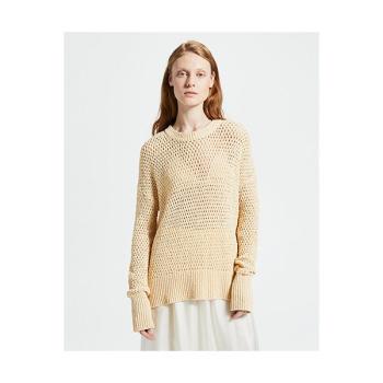 (신민아 착용) 띠어리 코튼 나이론 스웨터 $375 → $150