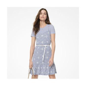 (윤아 착용) 마이클 마이클 코어스 메달리온 프린트 슬립 드레스 $155 → $75.95