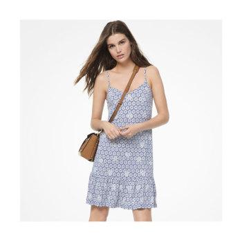 (윤아 착용) 마이클 마이클 코어스 메달리온 프린트 슬립 드레스 $155 → $54.25